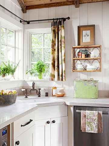 100 Beautiful Kitchen Window Design Ideas (45)