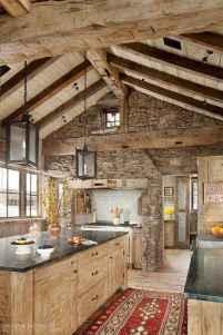 120 Modern Rustic Farmhouse Kitchen Decor Ideas (21)