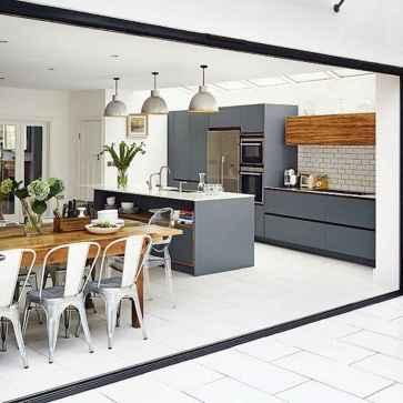 120 Modern Rustic Farmhouse Kitchen Decor Ideas (23)