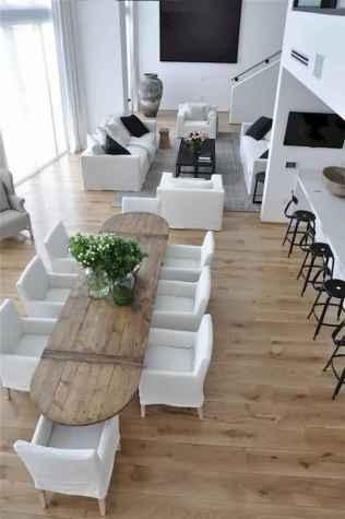 120 Modern Rustic Farmhouse Kitchen Decor Ideas (28)