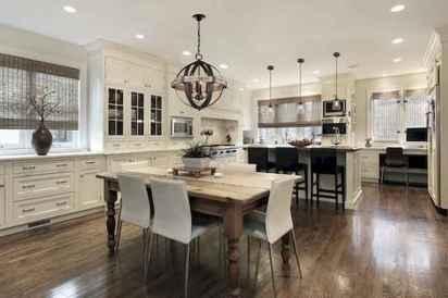 120 Modern Rustic Farmhouse Kitchen Decor Ideas (29)