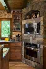120 Modern Rustic Farmhouse Kitchen Decor Ideas (34)