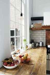 120 Modern Rustic Farmhouse Kitchen Decor Ideas (44)