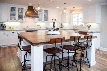 120 Modern Rustic Farmhouse Kitchen Decor Ideas (45)