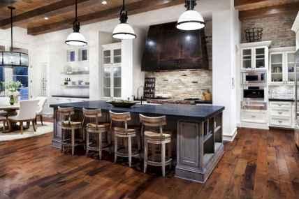120 Modern Rustic Farmhouse Kitchen Decor Ideas (53)