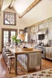 120 Modern Rustic Farmhouse Kitchen Decor Ideas (65)