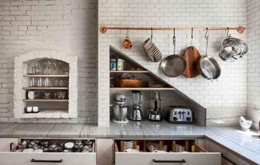 50 Smart Solution Standing Rack Kitchen Decor Ideas (18)