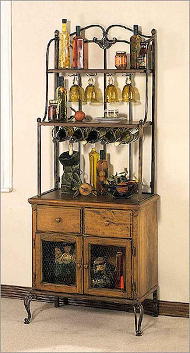 50 Smart Solution Standing Rack Kitchen Decor Ideas (39)