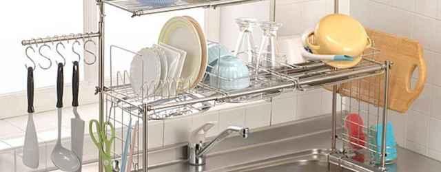 50 Smart Solution Standing Rack Kitchen Decor Ideas (41)