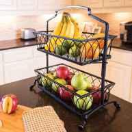 50 Smart Solution Standing Rack Kitchen Decor Ideas (49)