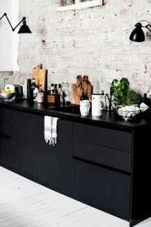 60 Black Kitchen Cabinets Design Ideas (1)