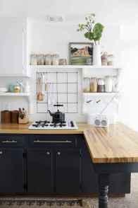60 Black Kitchen Cabinets Design Ideas (33)