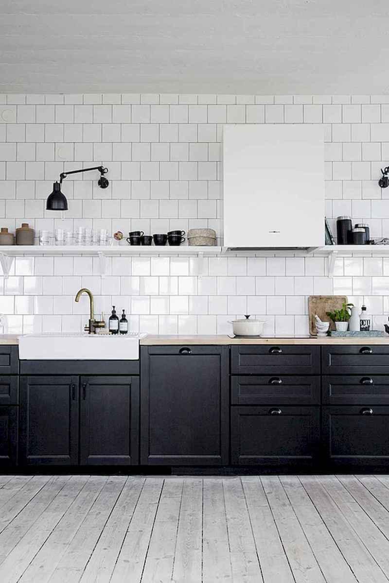 60 Black Kitchen Cabinets Design Ideas (48)