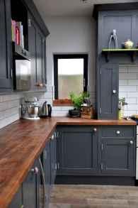 60 Black Kitchen Cabinets Design Ideas (9)
