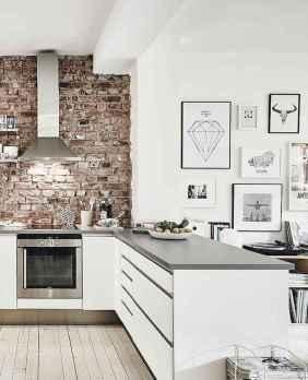 60 Glamorous Scandinavian Kitchen Decor Ideas (13)