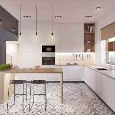 60 Glamorous Scandinavian Kitchen Decor Ideas (28)