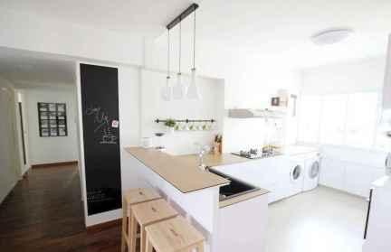 60 Glamorous Scandinavian Kitchen Decor Ideas (46)
