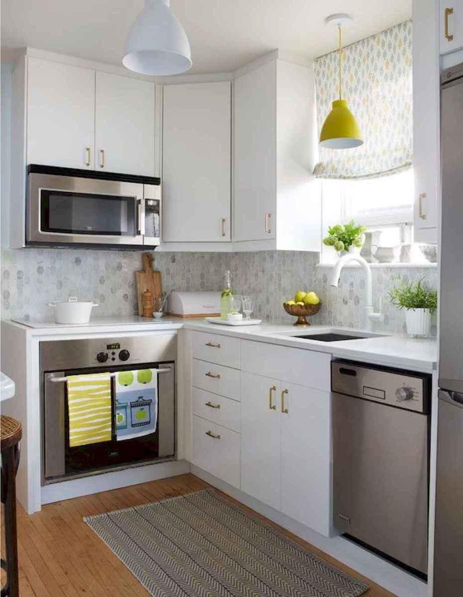 70 Brilliant Small Apartment Kitchen Decor Ideas (29 ...