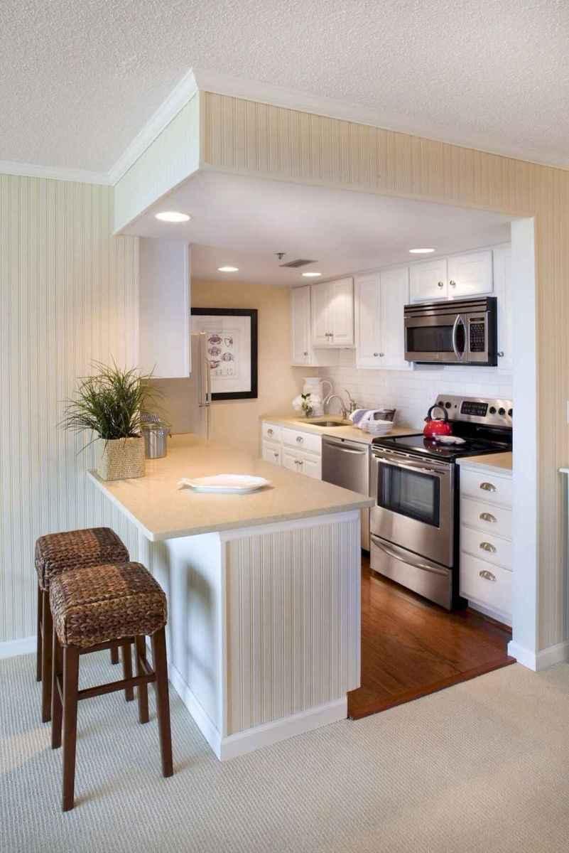 70 Brilliant Small Apartment Kitchen Decor Ideas (31 ...