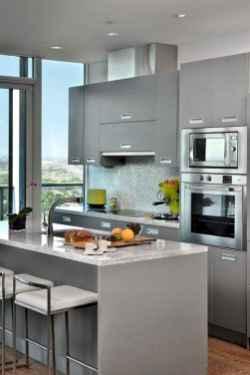 70 Brilliant Small Apartment Kitchen Decor Ideas (53)