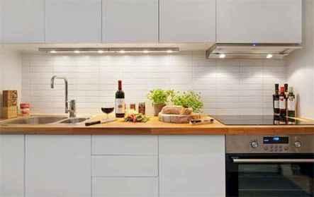 70 Brilliant Small Apartment Kitchen Decor Ideas (63)