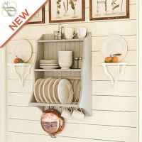 80 Incredible Hanging Rack Kitchen Decor Ideas (12)