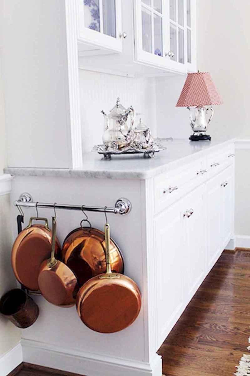 80 Incredible Hanging Rack Kitchen Decor Ideas (28)