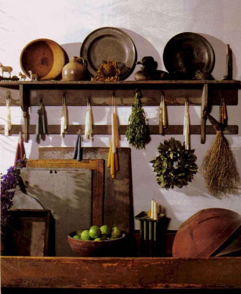 80 Incredible Hanging Rack Kitchen Decor Ideas (56)