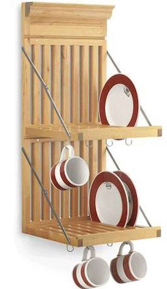 80 Incredible Hanging Rack Kitchen Decor Ideas (6)