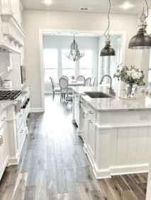 100 Supreme White Kitchen Cabinets Decor Ideas For Farmhouse Style Design (17)