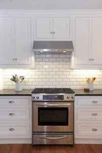 100 Supreme White Kitchen Cabinets Decor Ideas For Farmhouse Style Design (23)
