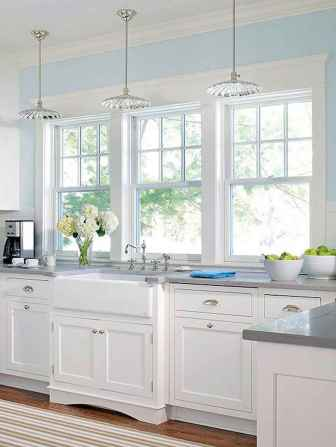 100 Supreme White Kitchen Cabinets Decor Ideas For Farmhouse Style Design (45)