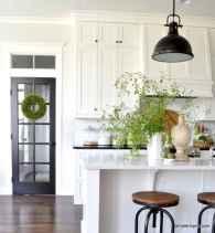 100 Supreme White Kitchen Cabinets Decor Ideas For Farmhouse Style Design (7)