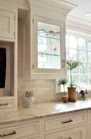 100 Supreme White Kitchen Cabinets Decor Ideas For Farmhouse Style Design (85)