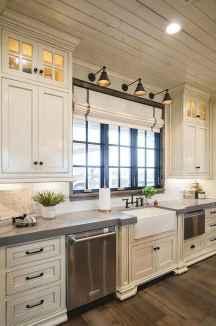 100 Supreme White Kitchen Cabinets Decor Ideas For Farmhouse Style Design (93)