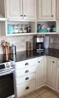 100 Supreme White Kitchen Cabinets Decor Ideas For Farmhouse Style Design (99)