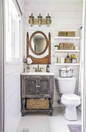 110 Supreme Farmhouse Bathroom Decor Ideas (64)