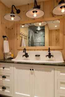 110 Supreme Farmhouse Bathroom Decor Ideas (71)