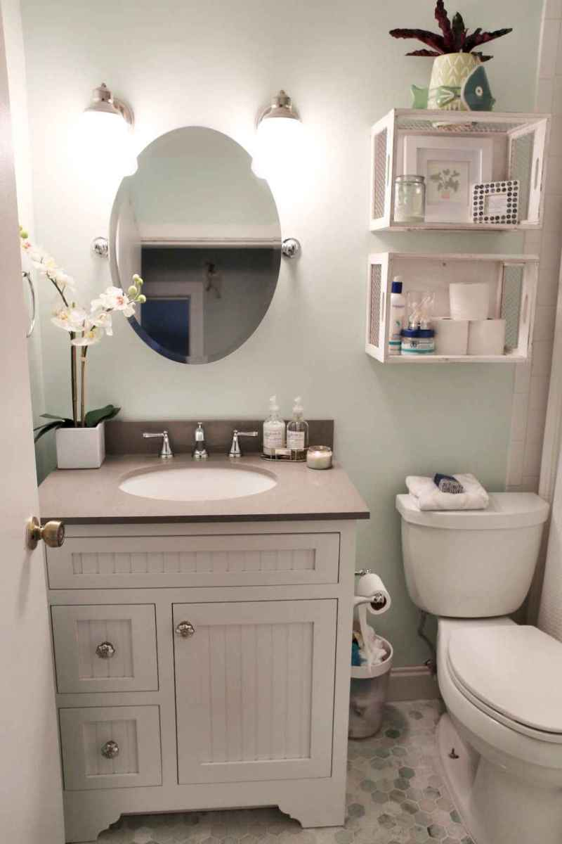 111 Best Small Bathroom Remodel On A Budget For First Apartment Ideas (43)