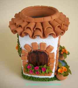 120 Easy And Simply To Try DIY Polymer Clay Fairy Garden Ideas (16)