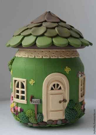 120 Easy And Simply To Try DIY Polymer Clay Fairy Garden Ideas (65)
