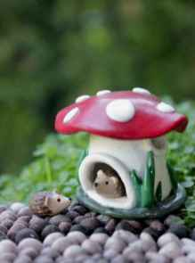 120 Easy And Simply To Try DIY Polymer Clay Fairy Garden Ideas (92)