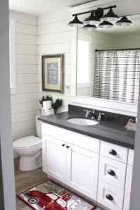 50 Stunning Farmhouse Bathroom Vanity Decor Ideas (12)