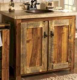 50 Stunning Farmhouse Bathroom Vanity Decor Ideas (123)