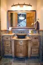 50 Stunning Farmhouse Bathroom Vanity Decor Ideas (33)