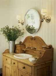 50 Stunning Farmhouse Bathroom Vanity Decor Ideas (84)