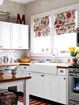 70 Best Farmhouse Kitchen Curtains Decor Ideas (14)