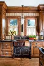 70 Best Farmhouse Kitchen Curtains Decor Ideas (40)