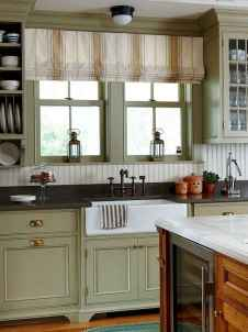 70 Best Farmhouse Kitchen Curtains Decor Ideas (58)