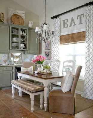 70 Best Farmhouse Kitchen Curtains Decor Ideas (66)